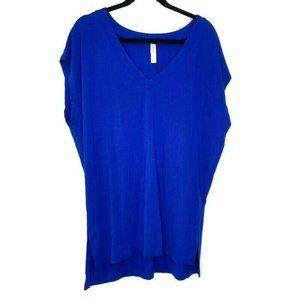Cacique Swim Shirt Sleeveless Cover Up Plus 14/16